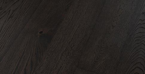 Novafloor 160 Tammi Black Wood 1-sauva öljyvahattu & harjattu parketti