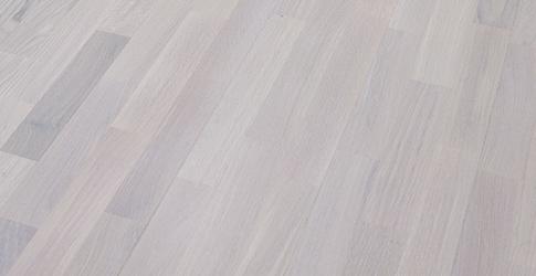 Novafloor PC 200 Tammi Polar White 3-sauva öljyvahattu & harjattu parketti