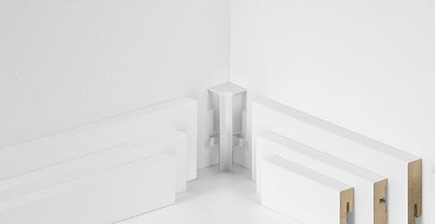 PARADOR SL3 sisänurkka Valkoinen Tarvikkeet