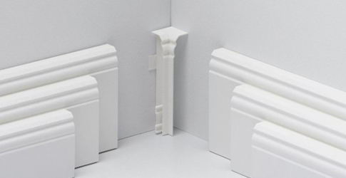 PARADOR HL1 / HL2 / HL3 sisänurkka Valkoinen Tarvikkeet