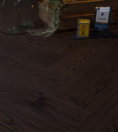Trinity  Tammi Musta  kalanruoto öljyvahattu & veistetty