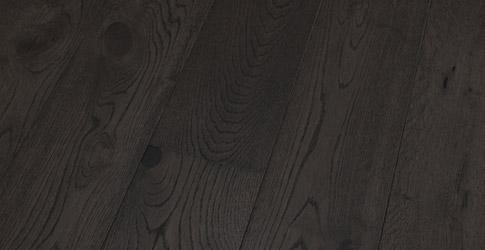 Novafloor PD 200 Tammi Rustic Black Wood 1-sauva öljyvahattu & harjattu parketti