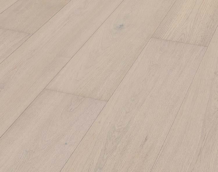 Meister HD 300 Tammi Natural Arctic White erikoisleveä lankku mattalakattu & harjattu Lindura