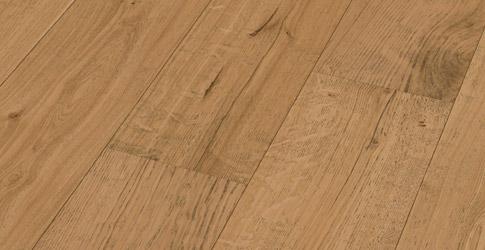 Meister HD 300 Tammi Natural Rustic erikoisleveä lankku mattalakattu & harjattu Lindura