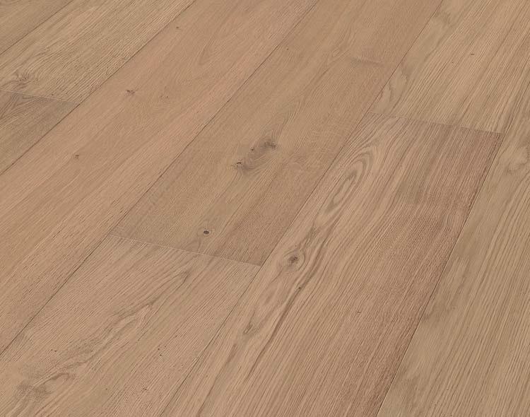 Meister HD 300 Tammi Natural Light erikoisleveä lankku mattalakattu & harjattu Lindura